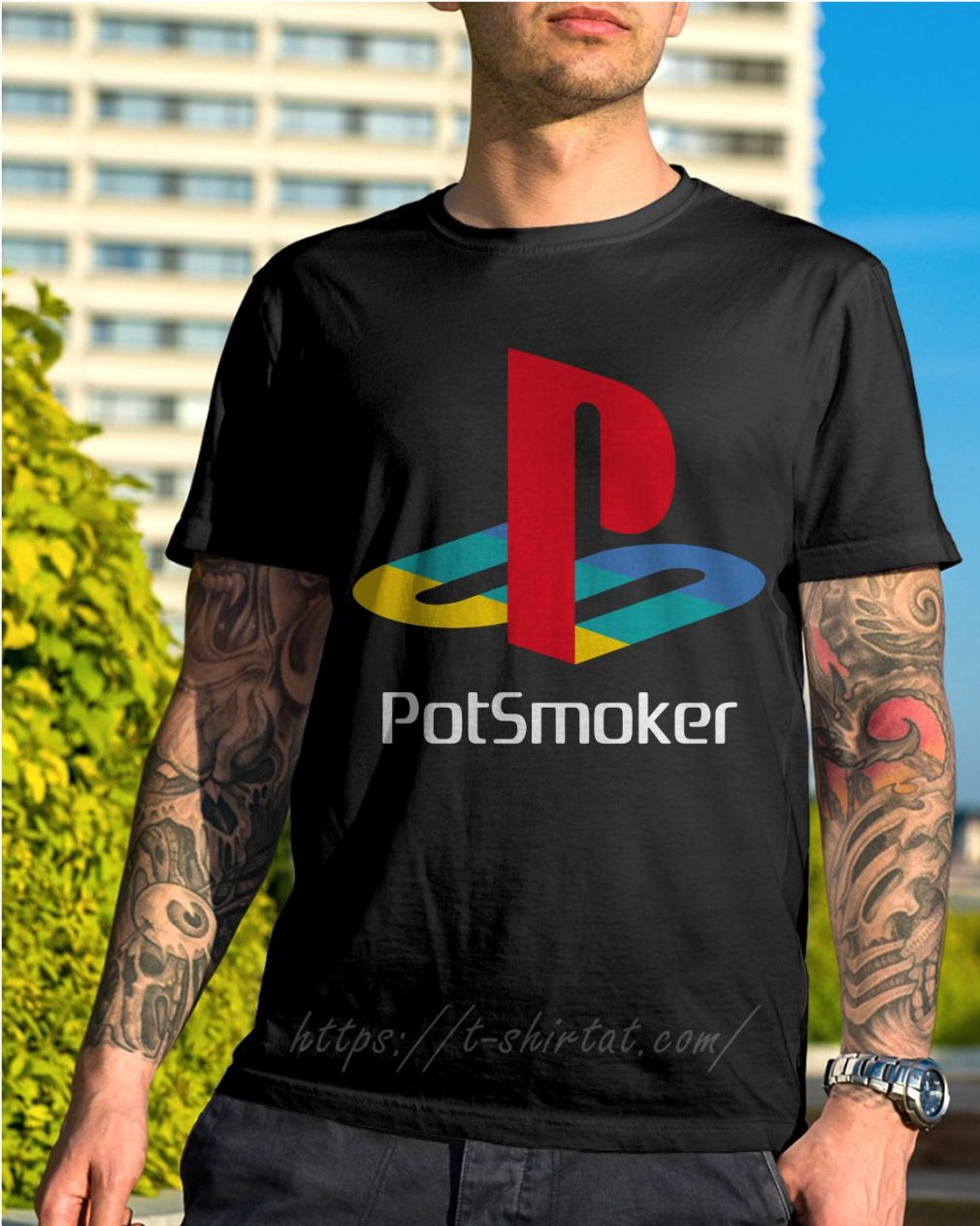 Official Pot smoker shirt