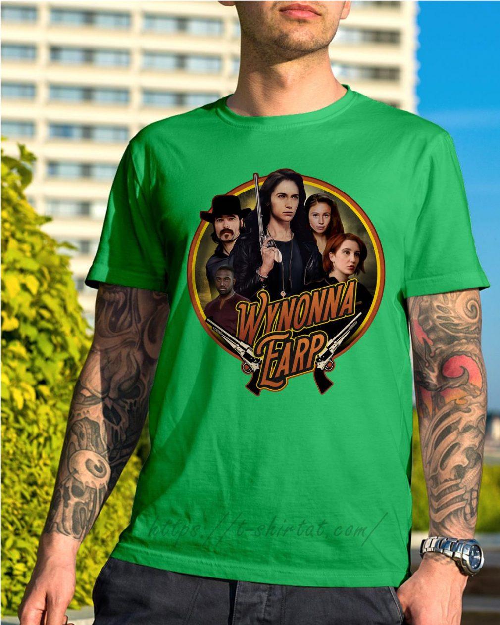 Official Wynonna Earp Shirt green