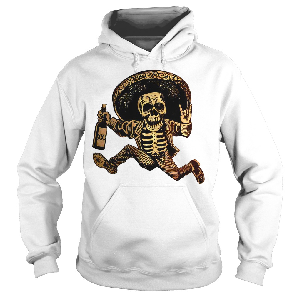 Posada day of the Dead Outlaw Hoodie