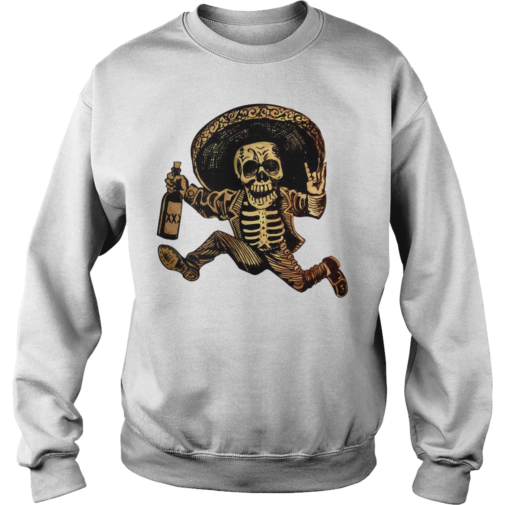 Posada day of the Dead Outlaw Sweater