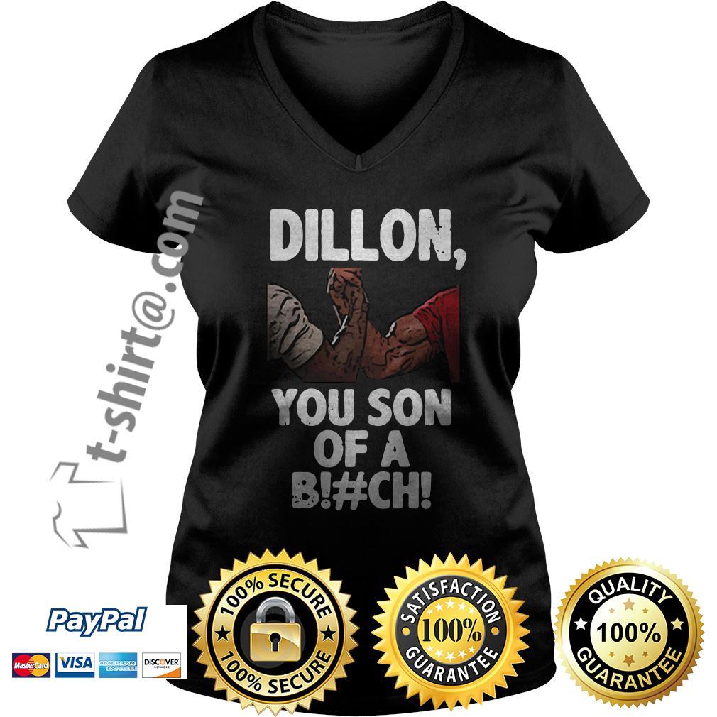 Predator Dillon you son of a bitch V-neck T-shirt