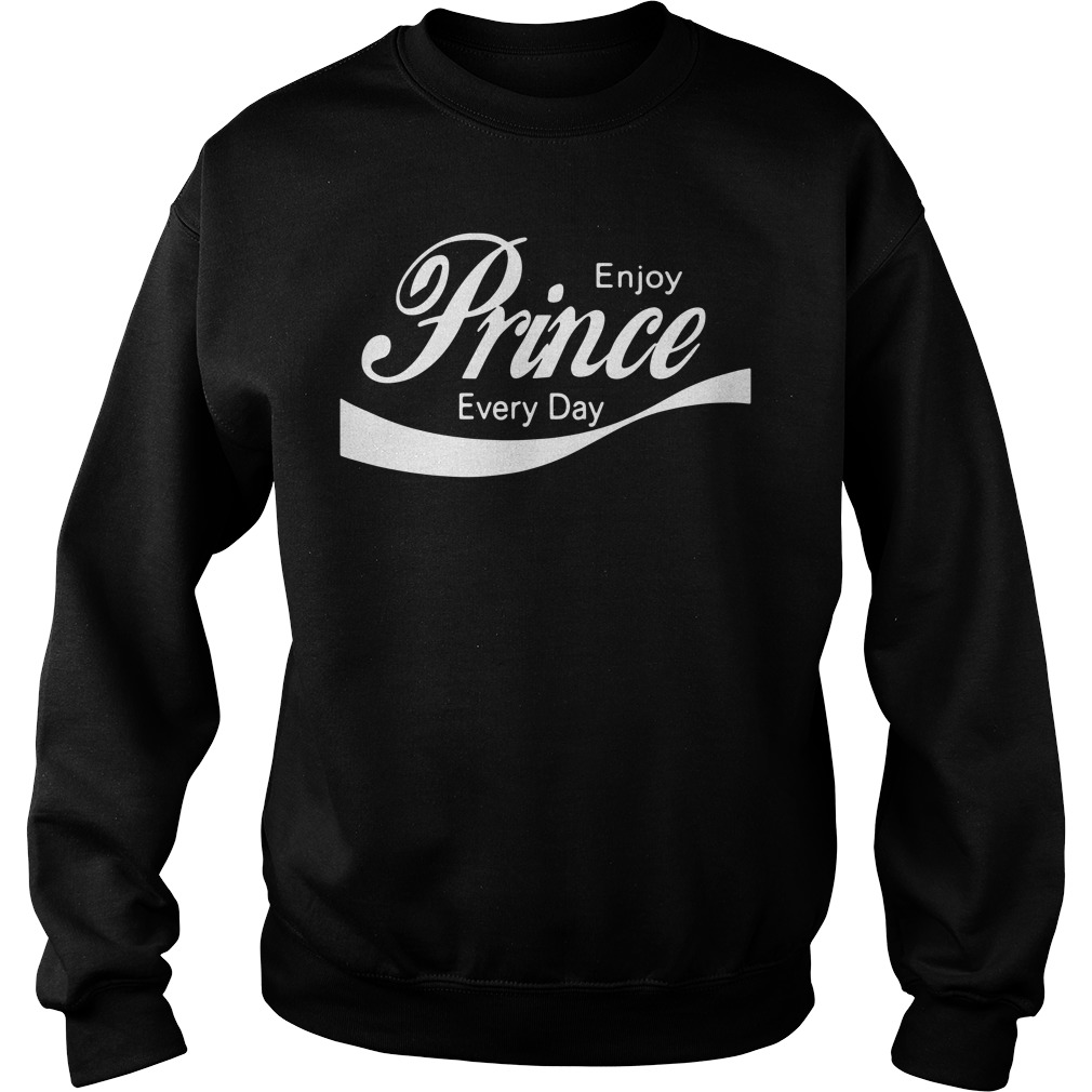 Prince Rogers Nelson Enjoy prince everyday Sweater