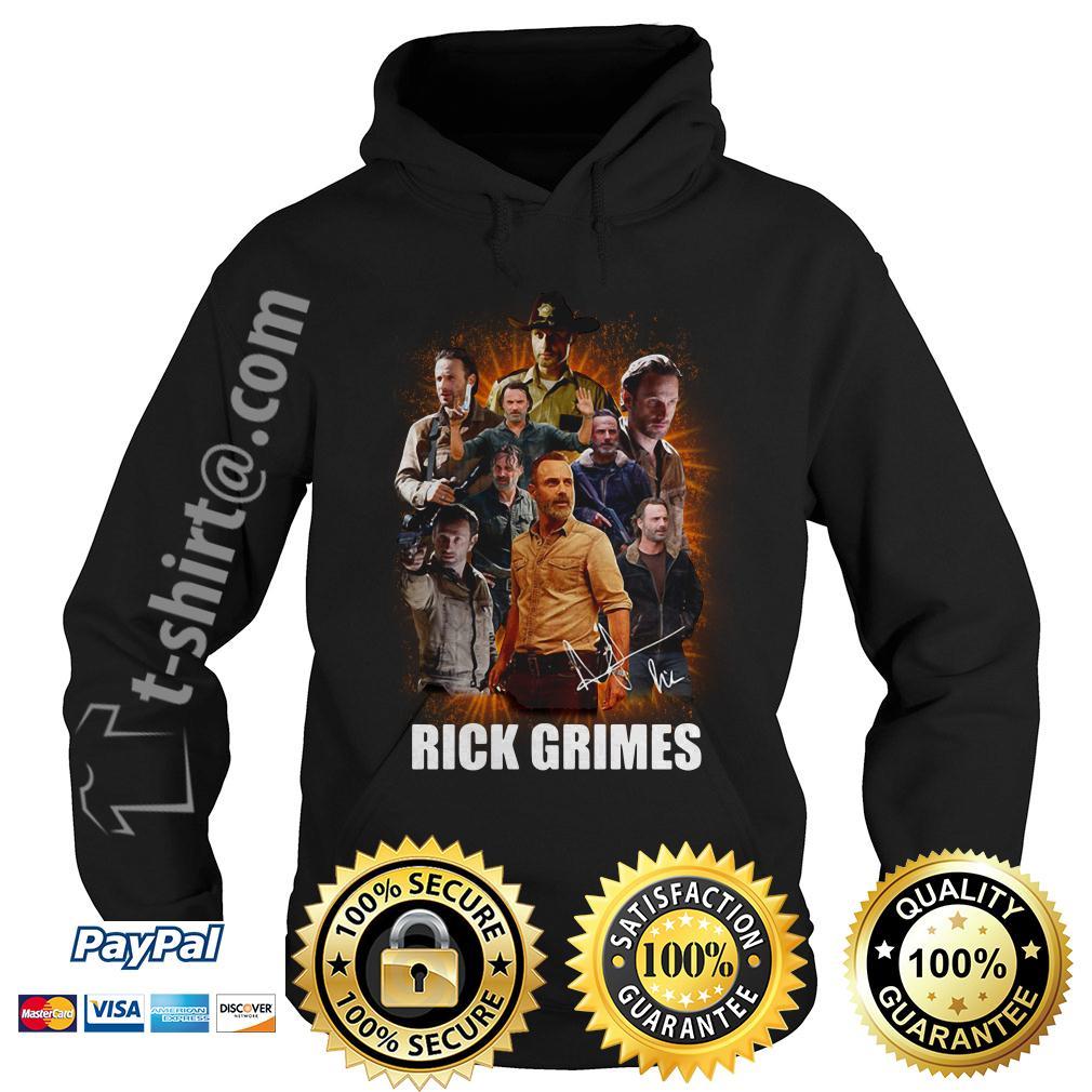 Rick Grimes in The Walking Dead love Rick Hoodie