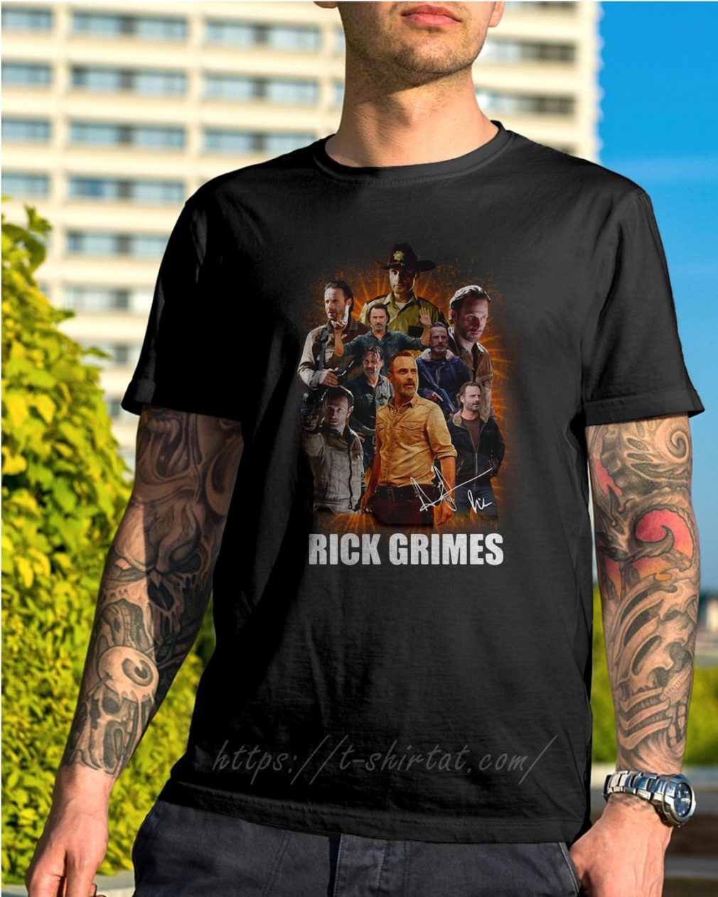 Rick Grimes in The Walking Dead love Rick shirt