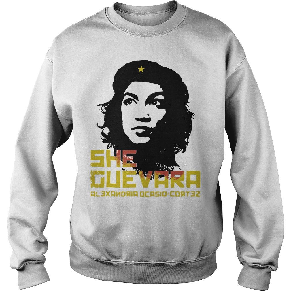 She Guevara Alexandria Ocasio Cortez Sweater