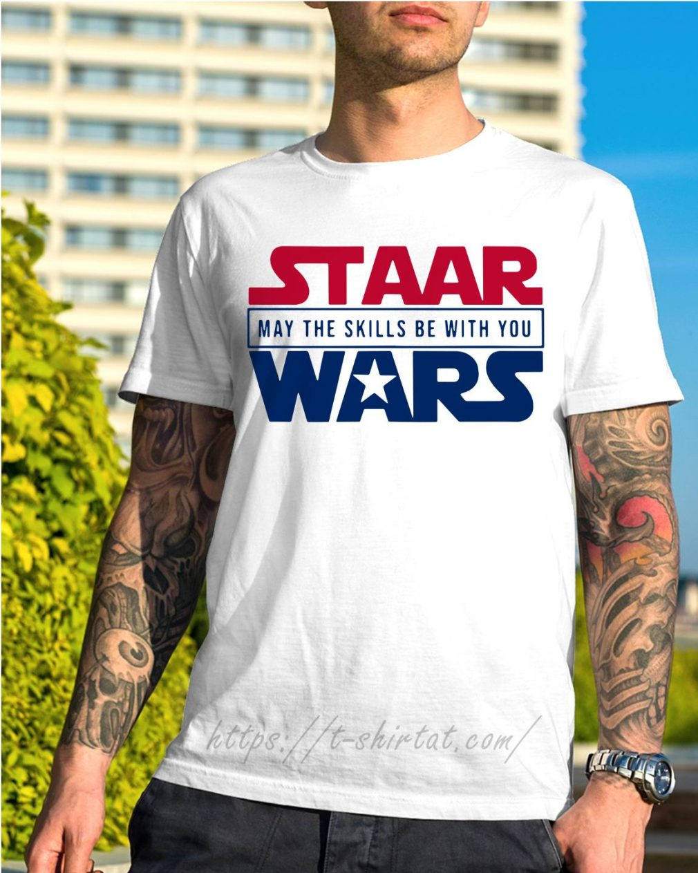 STAAR Wars may the skills be with you shirt