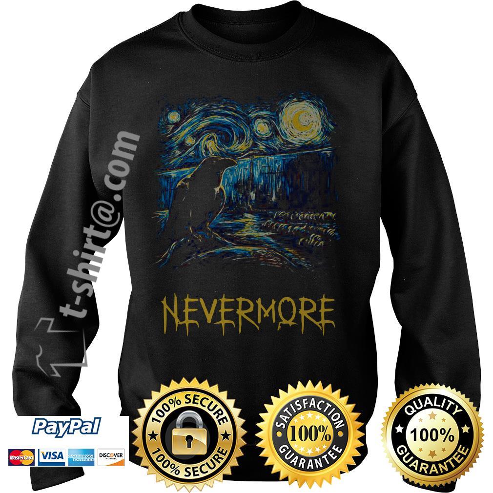 Starry fall Sherlock Van Gogh starry night nevermore Sweater