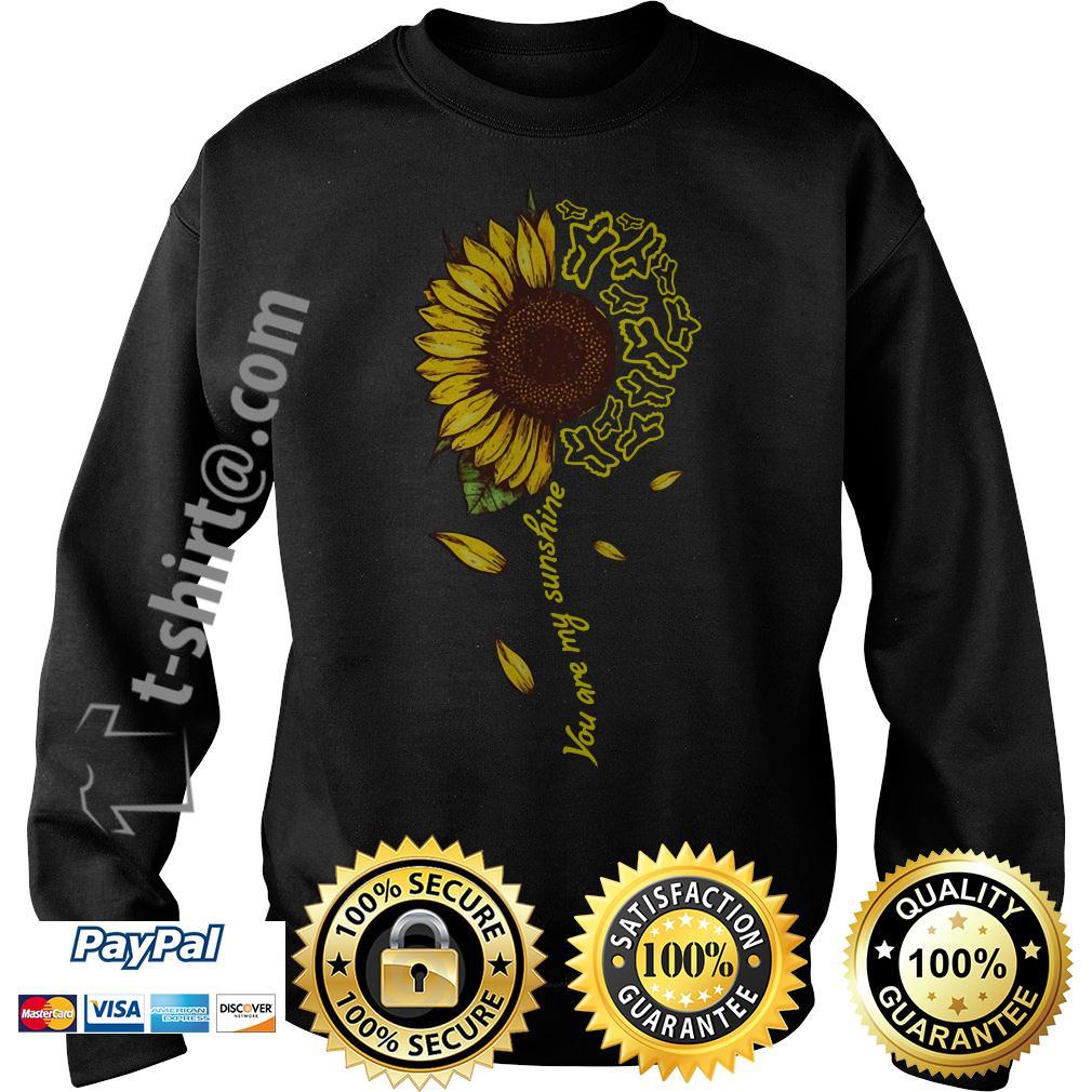 Sunflower Fox Racing you are my sunshine Sweater