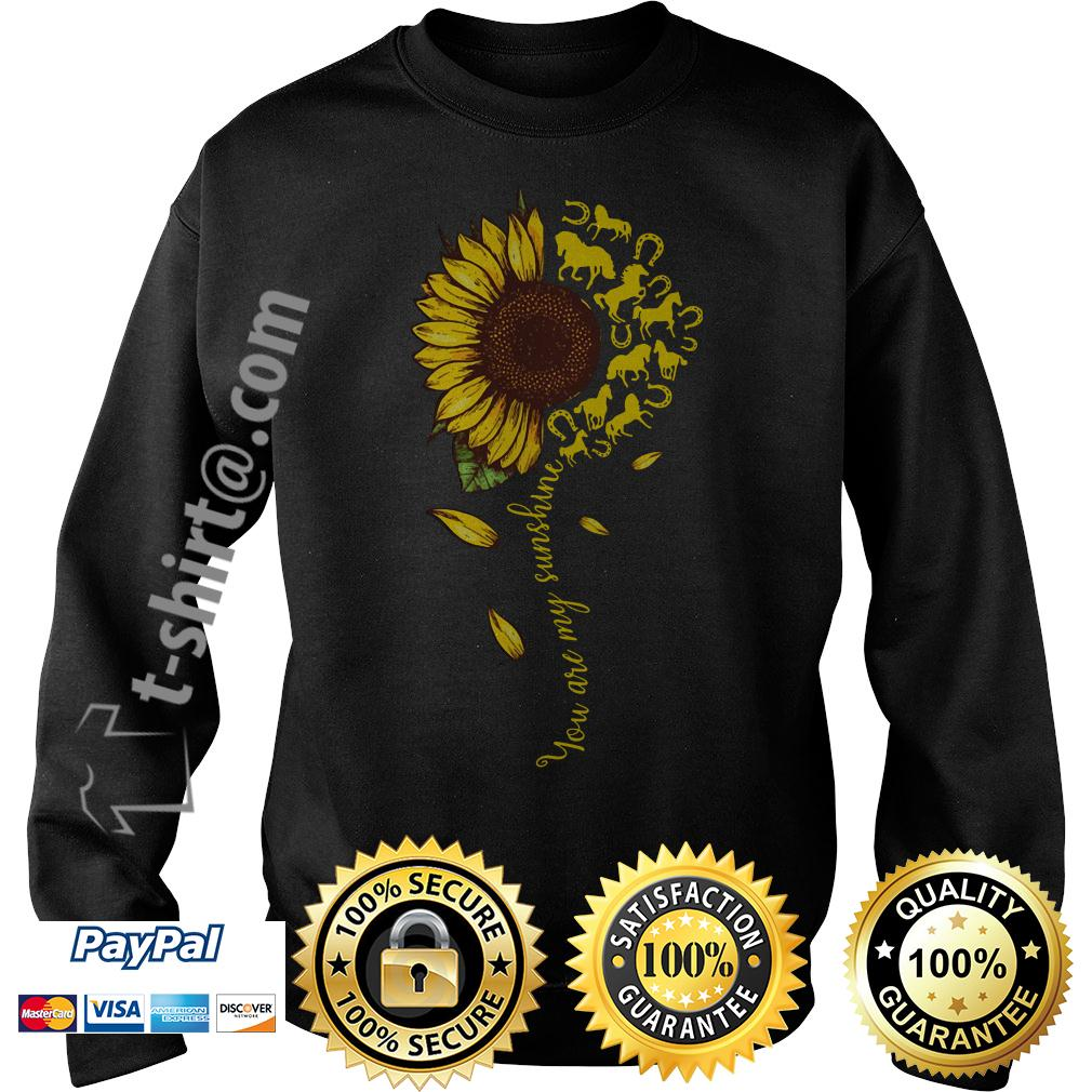 Sunflower horse you are my sunshine Sweater