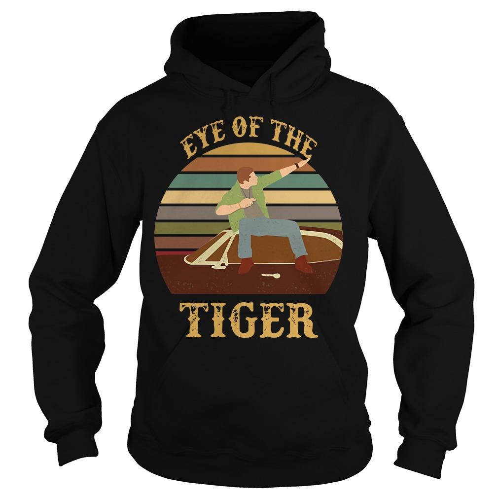 Supernatural dean eye of the tiger vintage sunset Hoodie