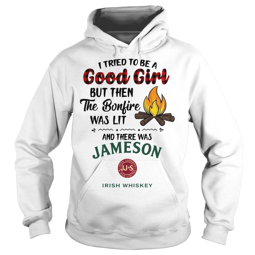The bonfire was lit and there was Jameson Irish Whiskey Hoodie