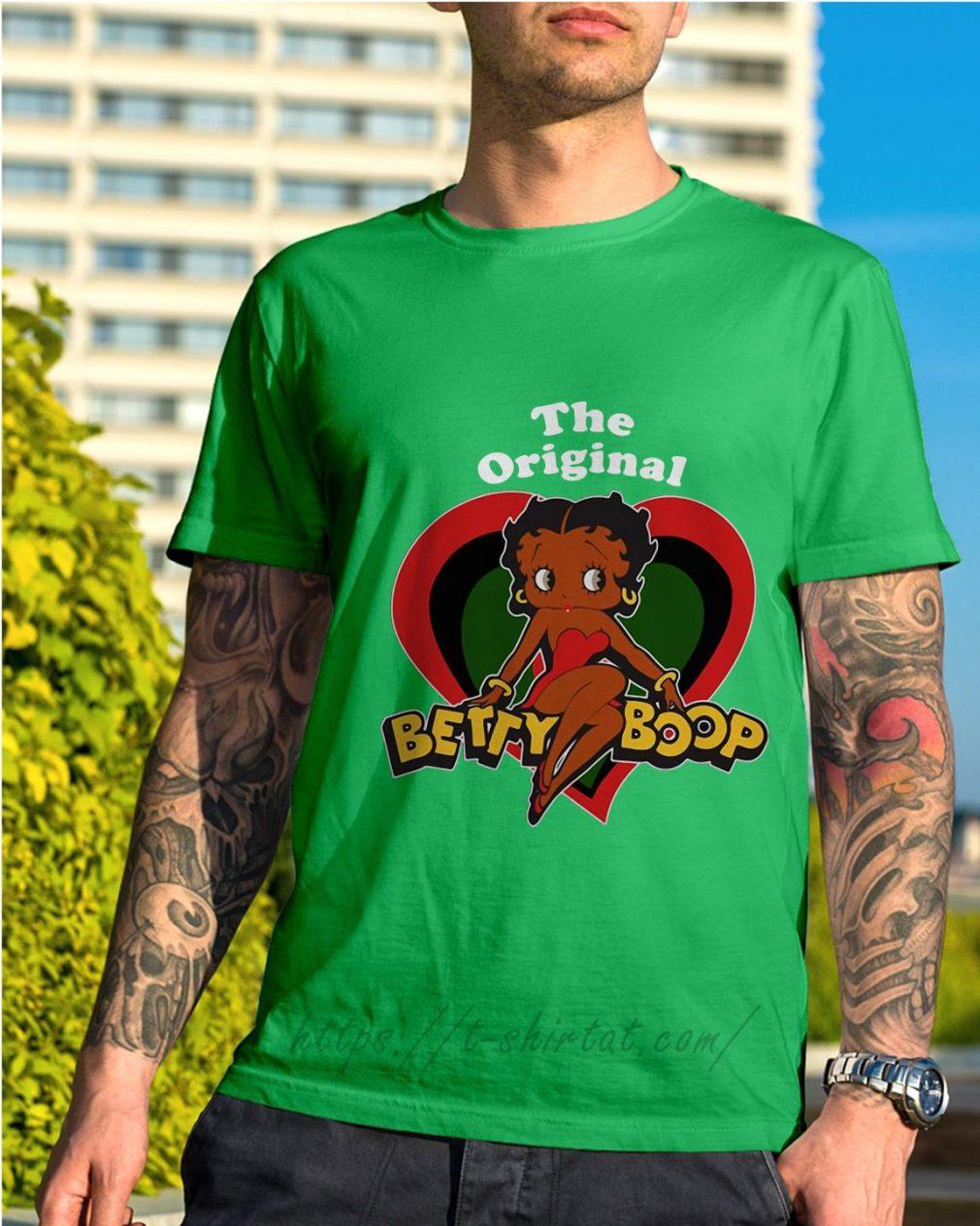 The Original Betty Boop Shirt green