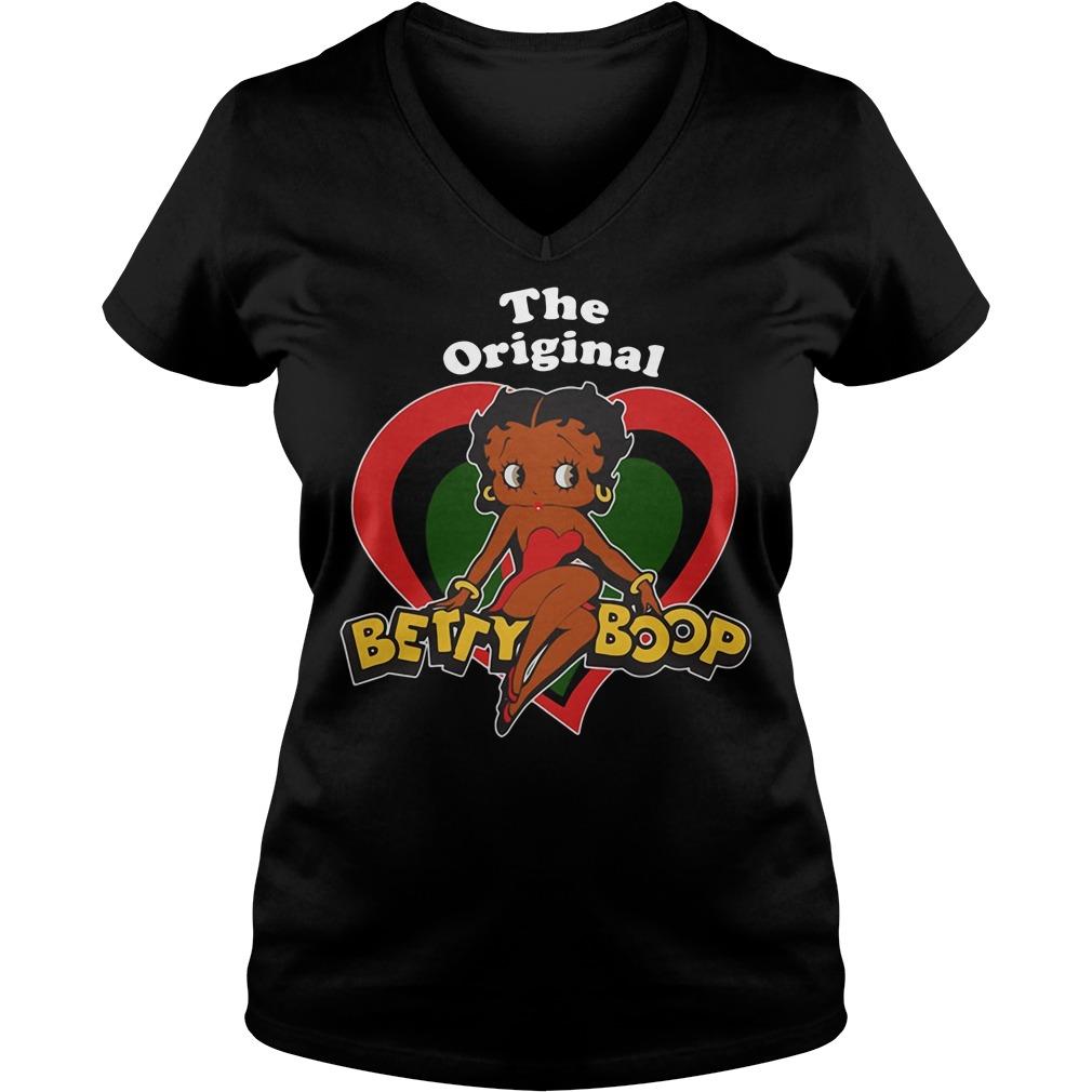 The Original Betty Boop V-neck T-shirt