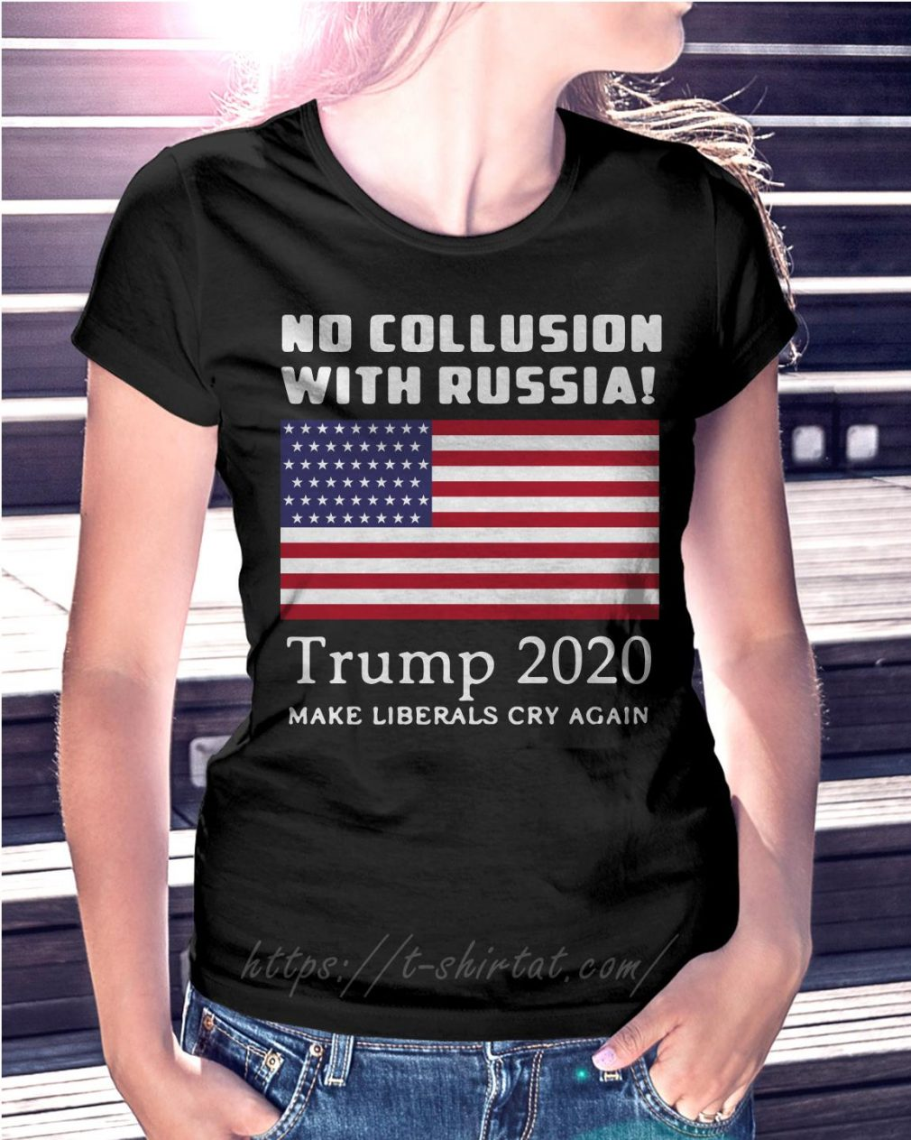 Trump and Mueller no collusion with Russia Trump 2020 make liberals cry again