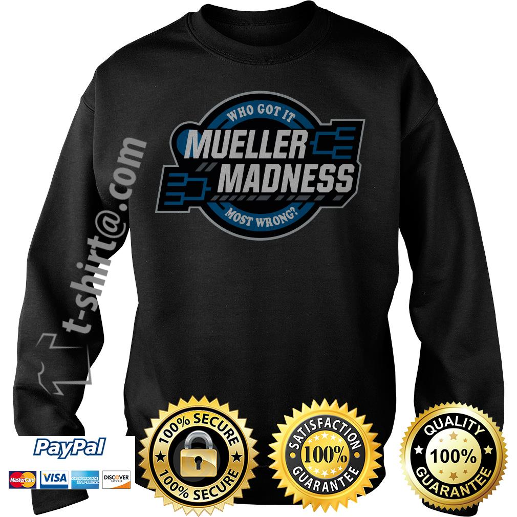Trump and Mueller who got it most wrong Mueller Madness Sweater