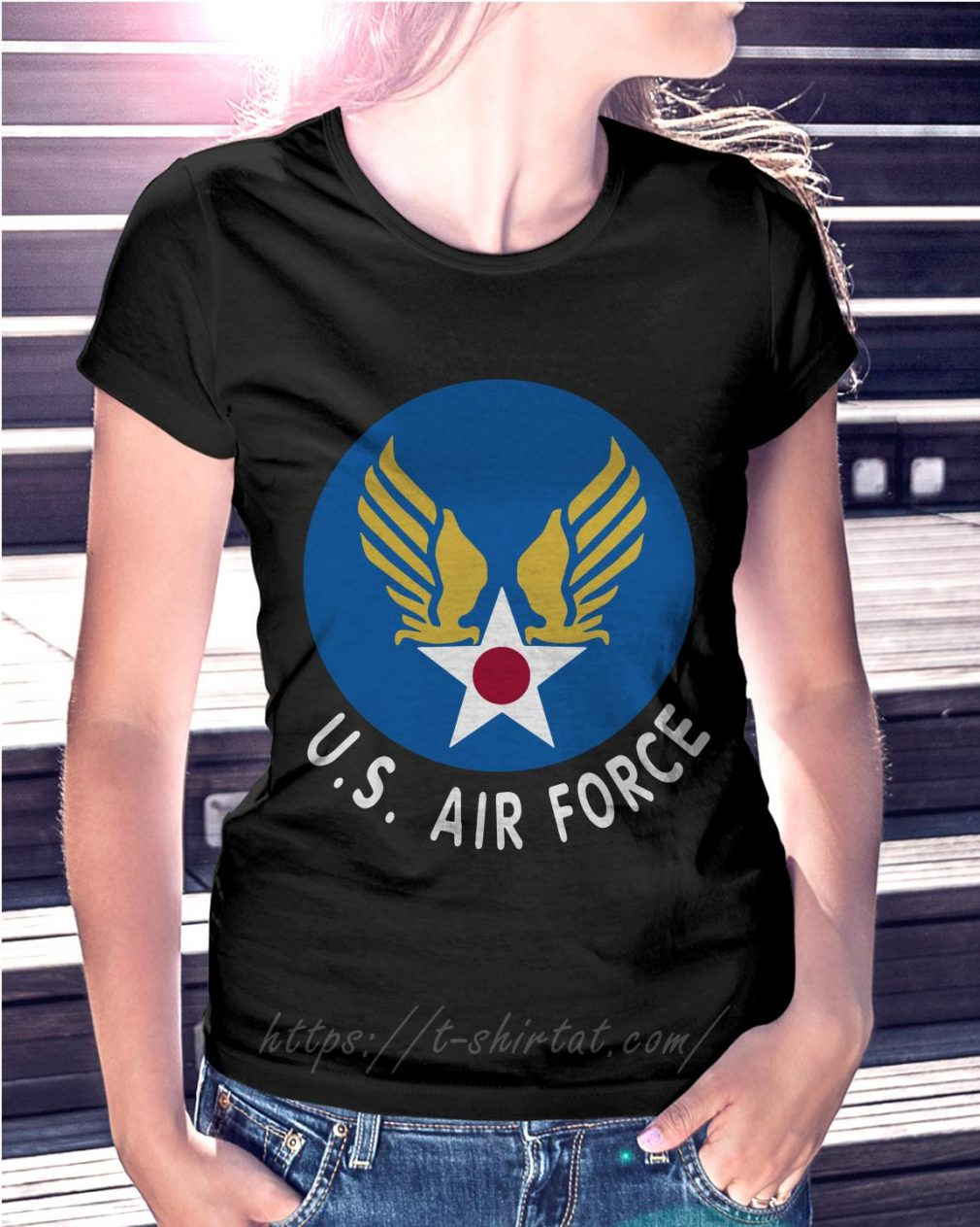United States air force Ladies Tee