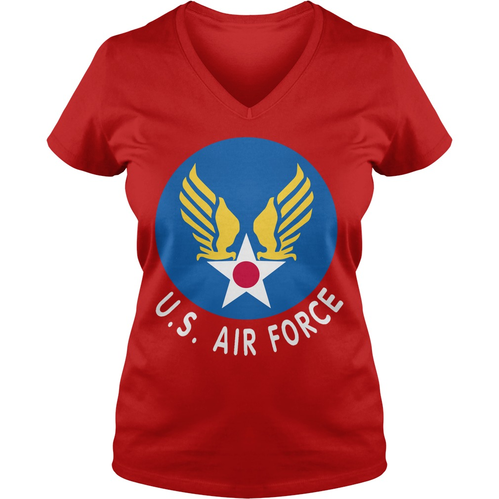 United States air force V-neck T-shirt