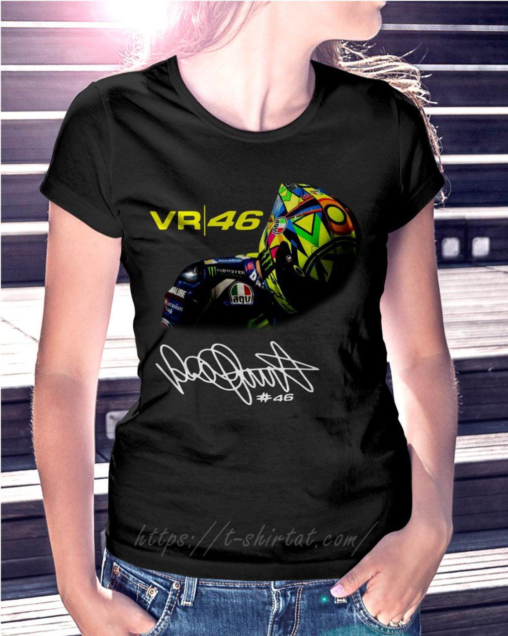 Valentino Rossi VR46 signature Ladies Tee