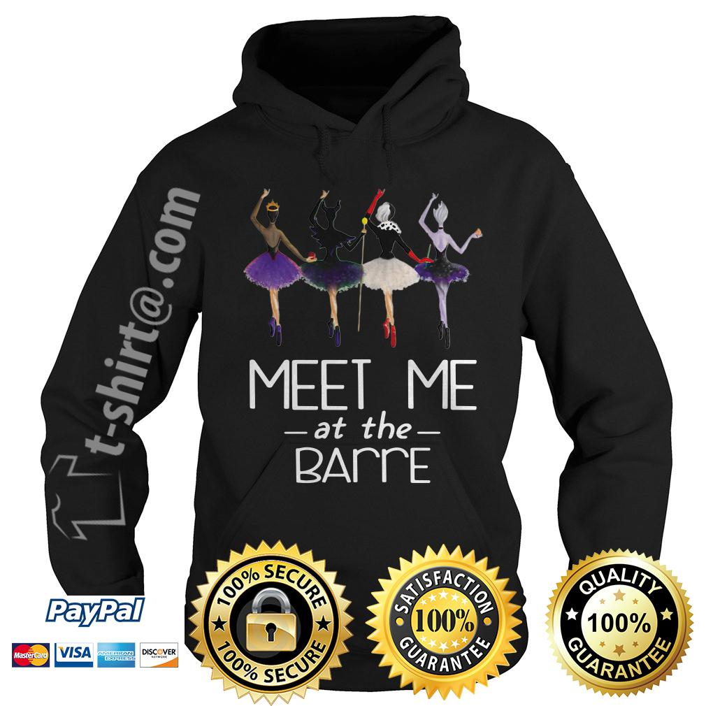 Villains Disney characters ballet meet me at the Barre Hoodie