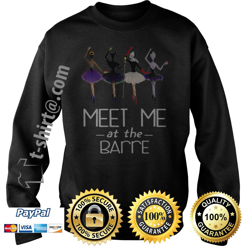 Villains Disney characters ballet meet me at the Barre Sweater