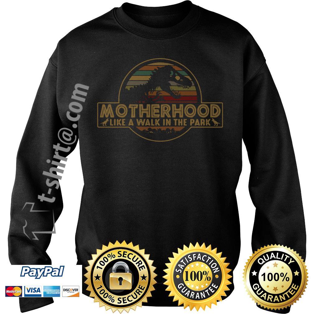 Vintage motherhood like a walk in the park Sweater