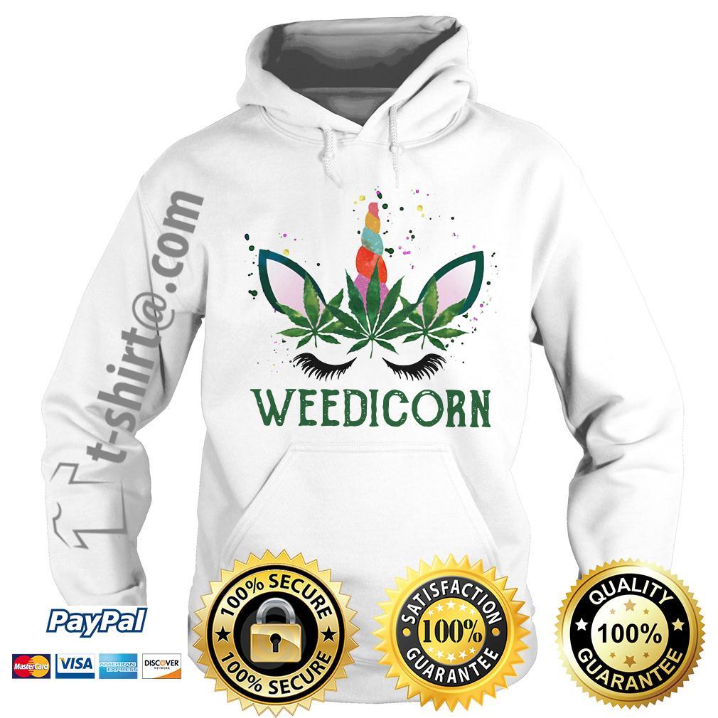 Weed unicorn Weedicorn Hoodie
