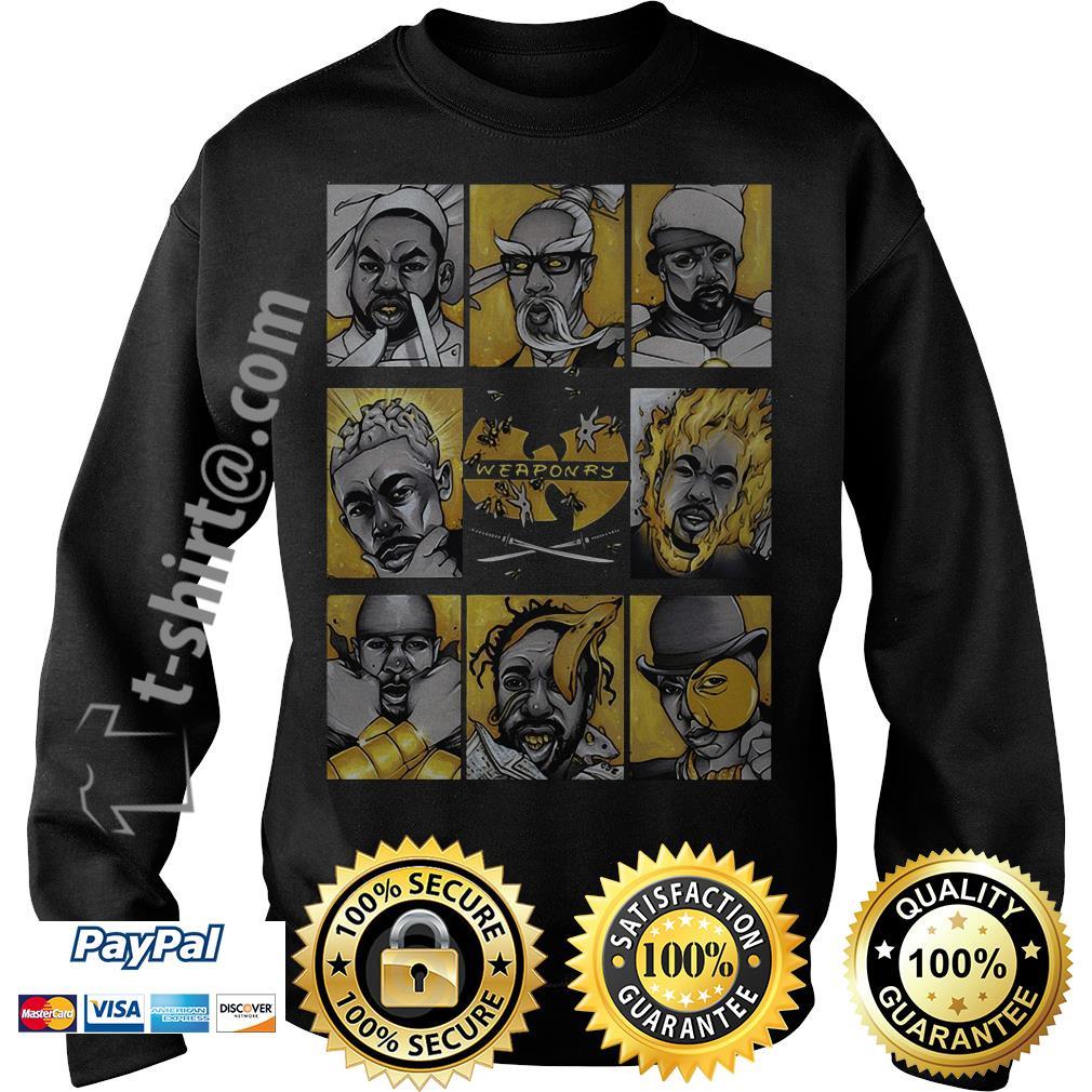Wu-Tang clan weaponry Sweater