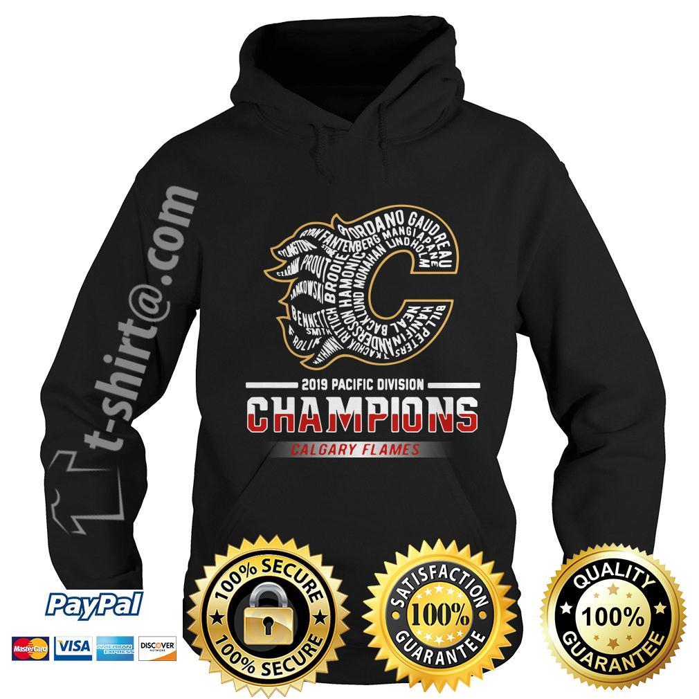 2019 Pacific division champions Calgary Flames Rittich Gaudreau Hoodie
