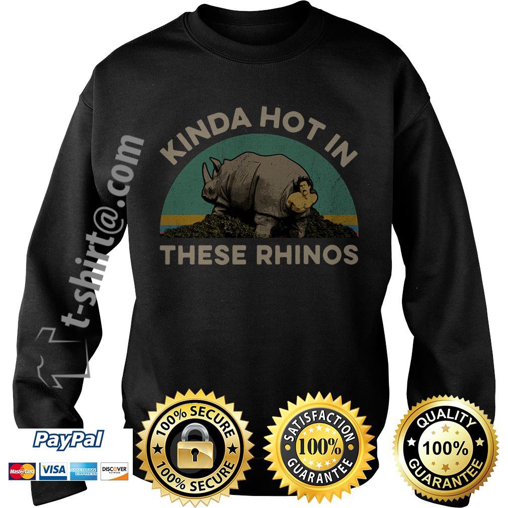 Ace Ventura Kinda hot in these rhinos retro Sweater