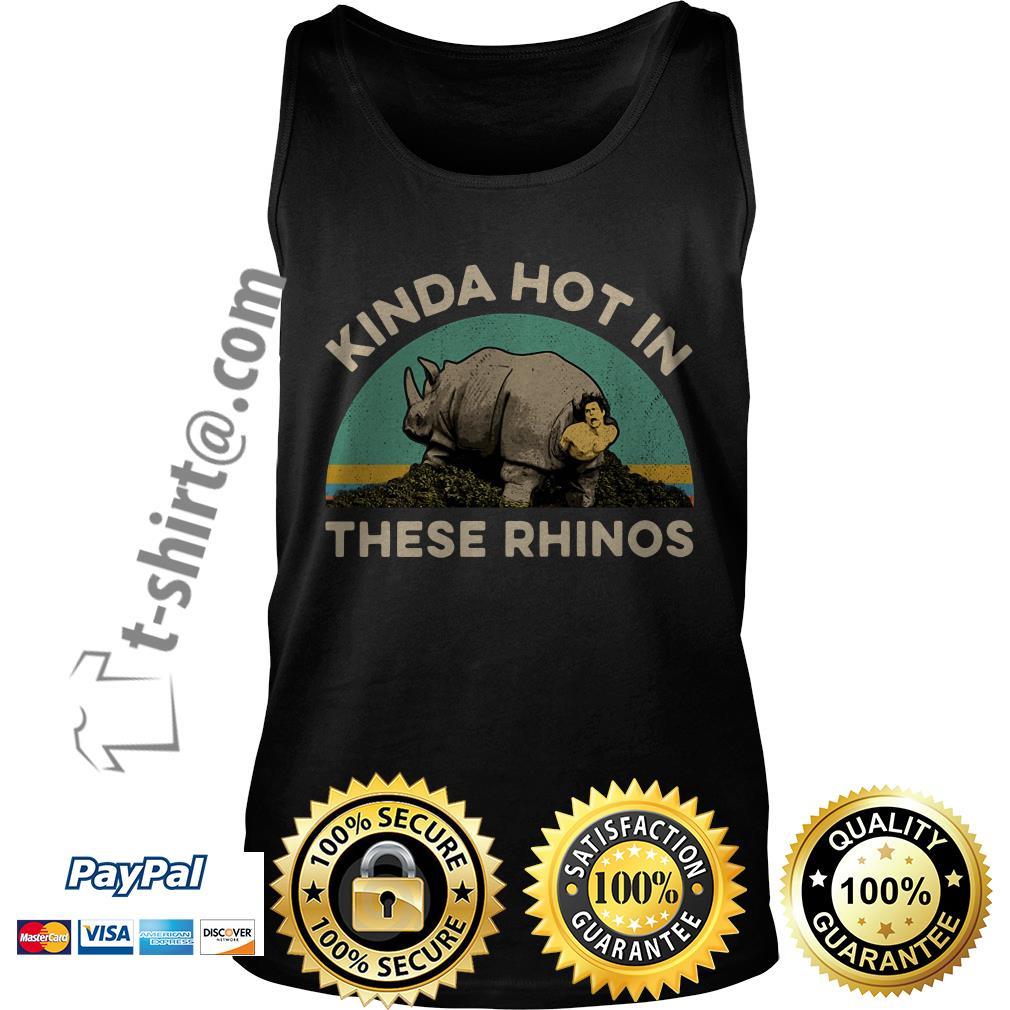 Ace Ventura Kinda hot in these rhinos retro  Tank top