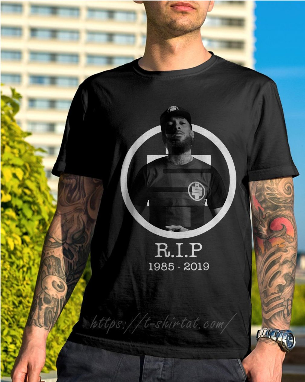 All Money In RIP Nipsey Hussle 1985-2019 shirt