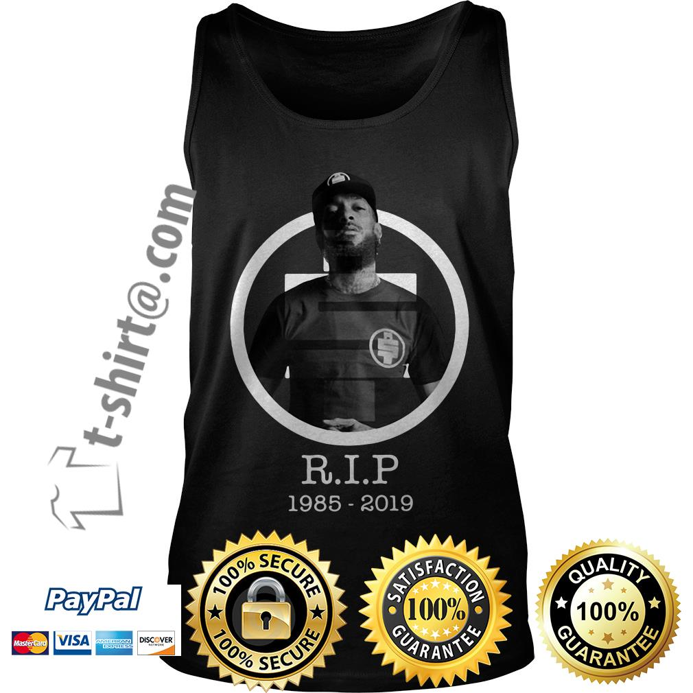 All Money In RIP Nipsey Hussle 1985-2019 Tank top