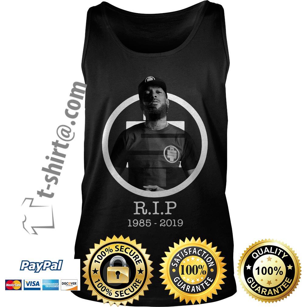 All Money In RIP Nipsey Hussle 1985-2019 Tank top