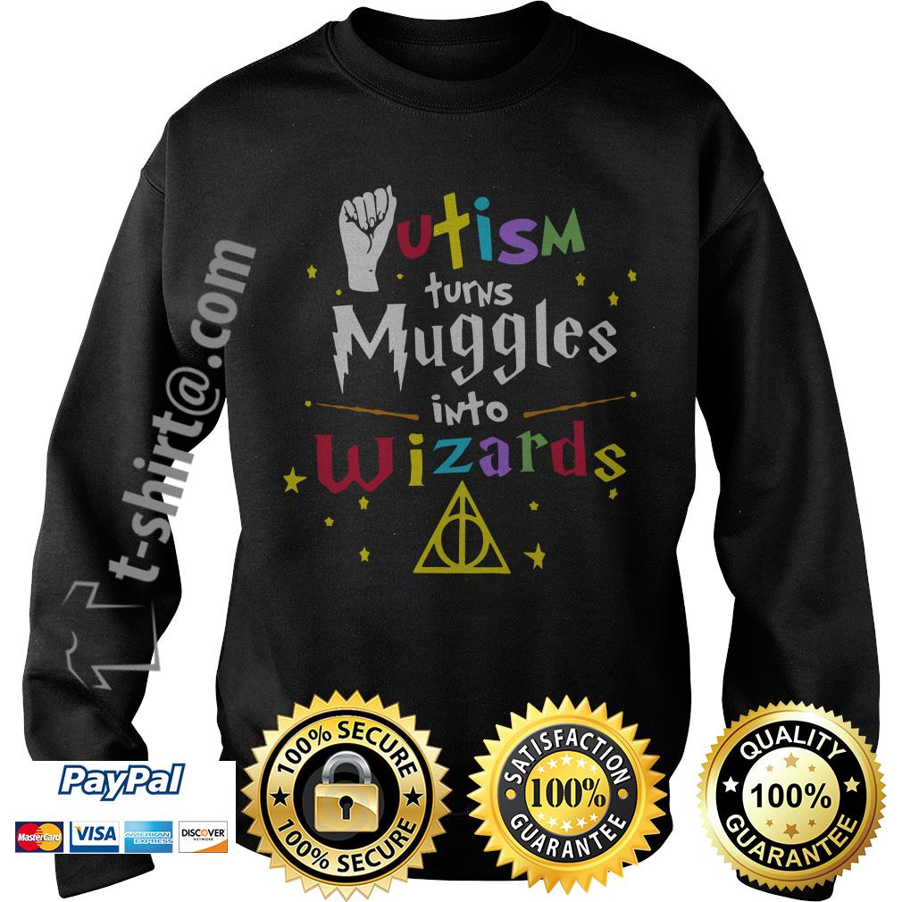 Autism turns muggle into Wizard Sweater