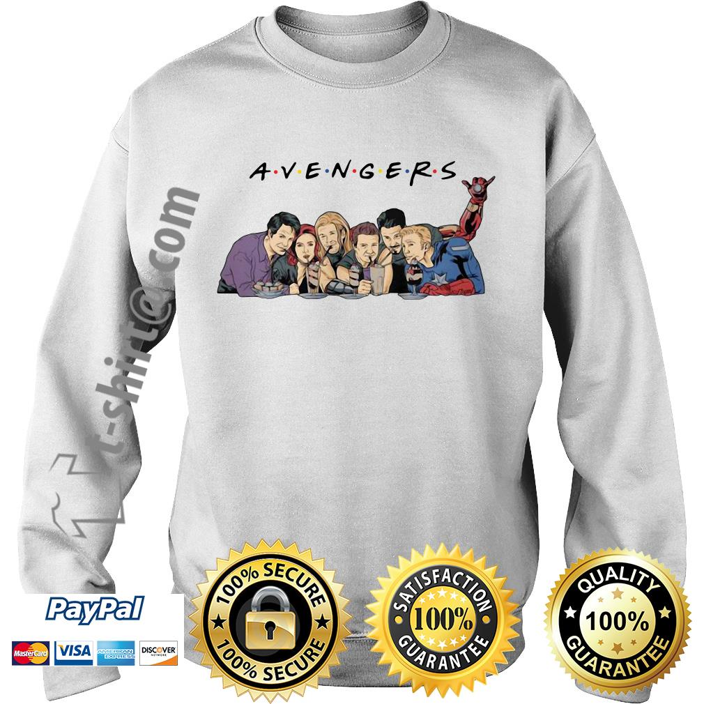 Avengers friends hulk black widow Thor Hawkeye Captain America iron man Sweater