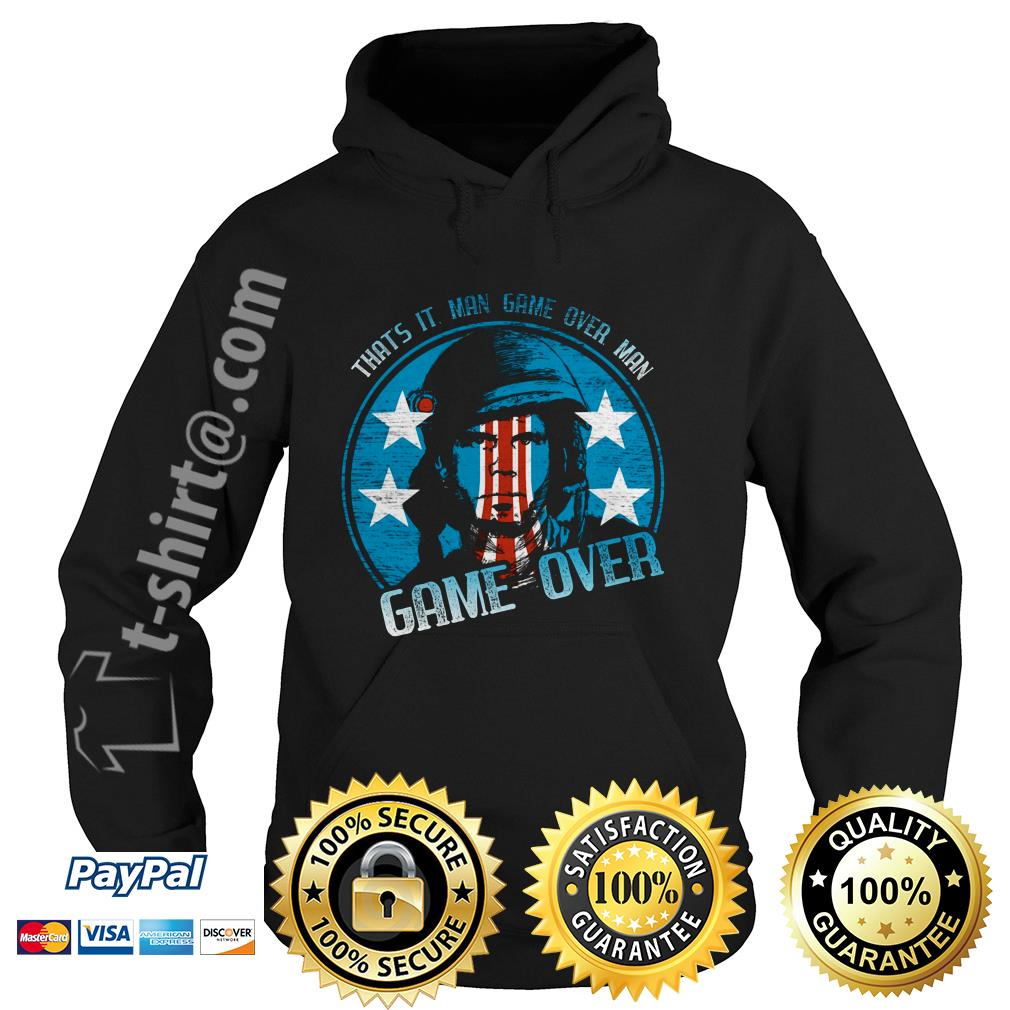 Bill Paxton that's it man game over man game over Hoodie