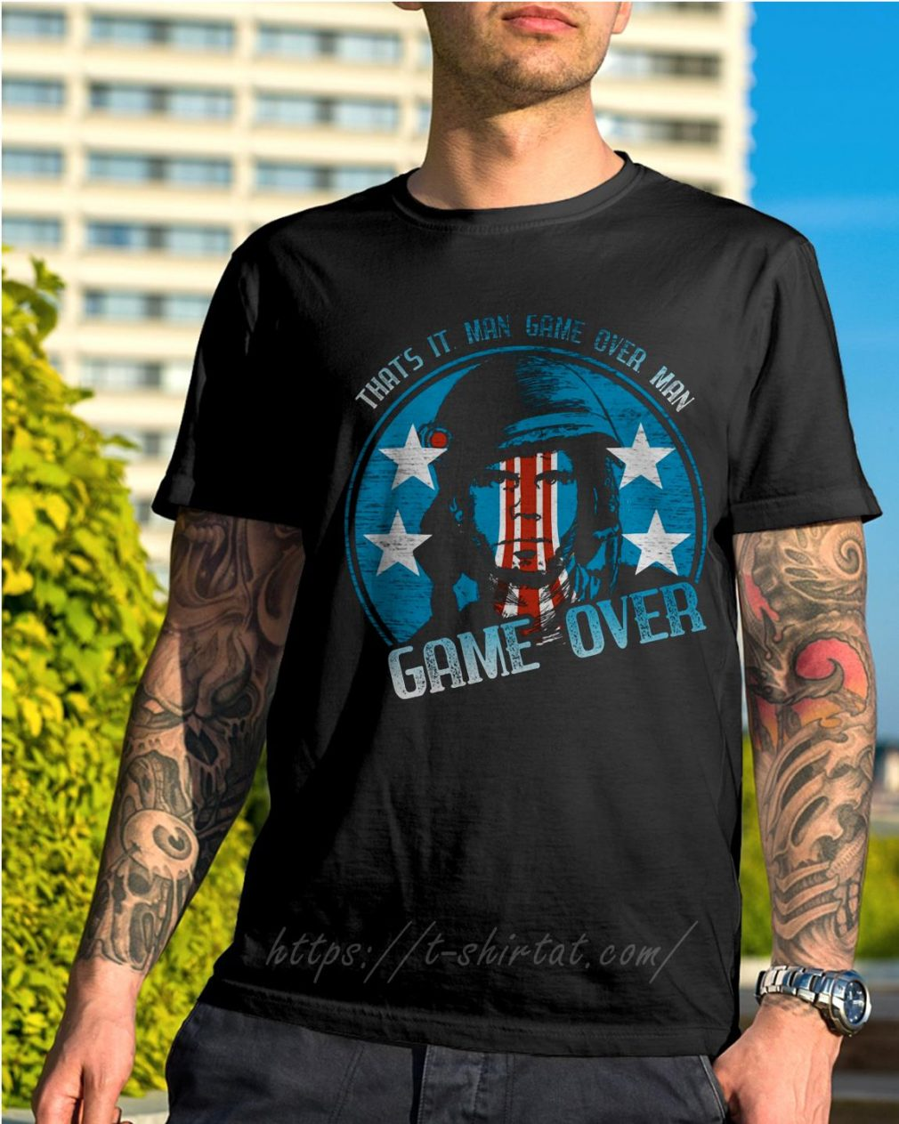 Bill Paxton that's it man game over man game over shirt