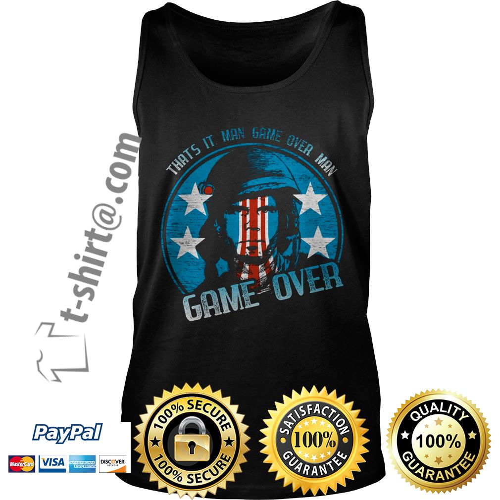 Bill Paxton that's it man game over man game over  Tank top