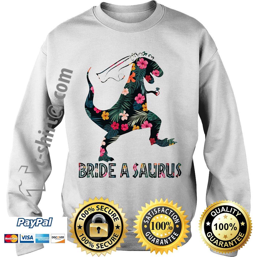 Bride a Saurus green flower Sweater