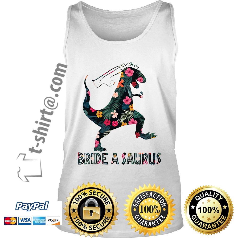 Bride a Saurus green flower Tank top