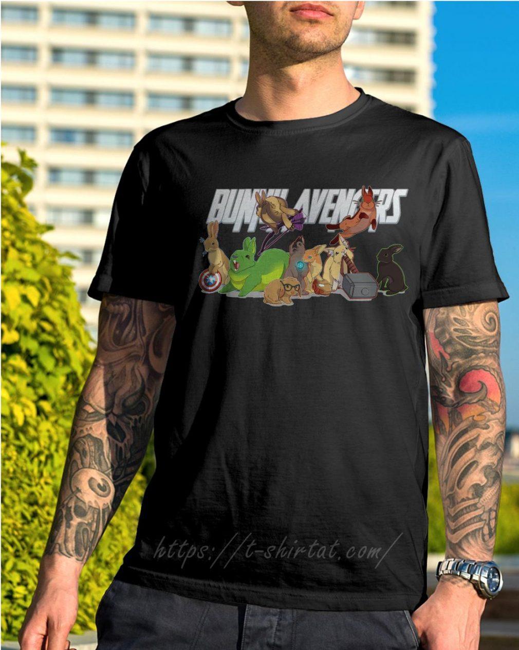 Bunny avengers shirt