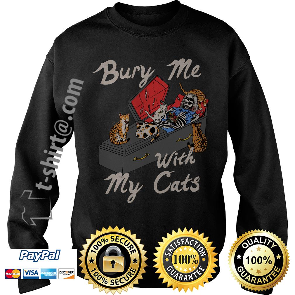 Bury me with my cats Sweater