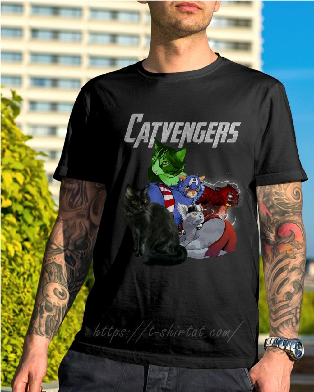 Catvengers shirt