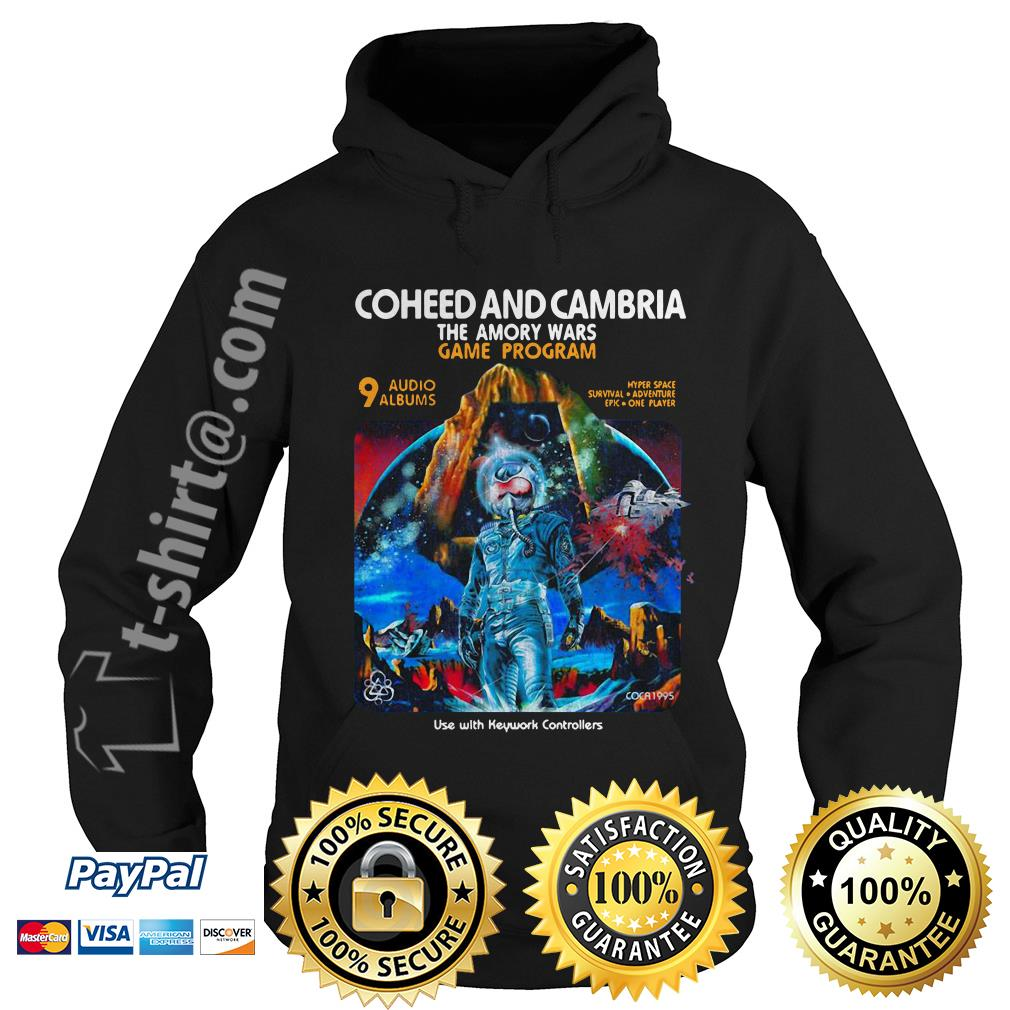Coheed and Cambria the Amory wars game program use with keyword controllers Hoodie