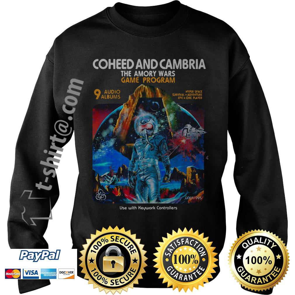 Coheed and Cambria the Amory wars game program use with keyword controllers Sweater