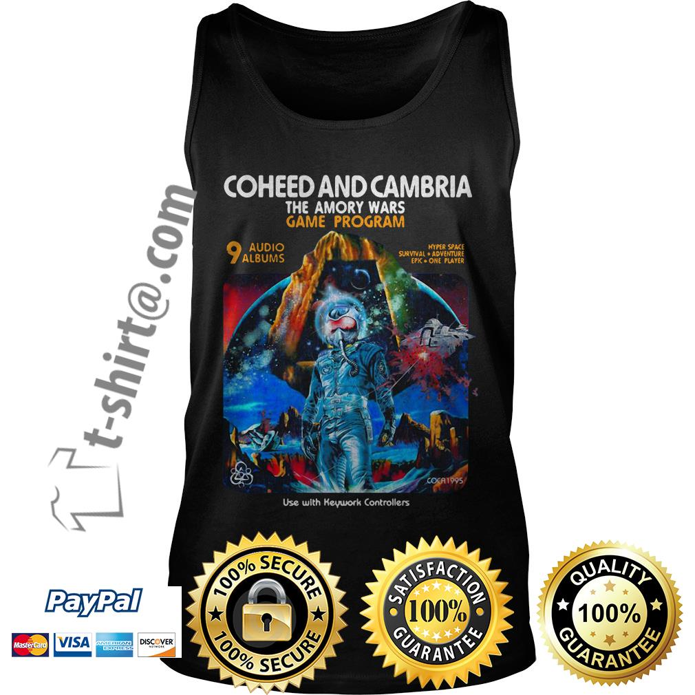 Coheed and Cambria the Amory wars game program use with keyword controllers Tank top
