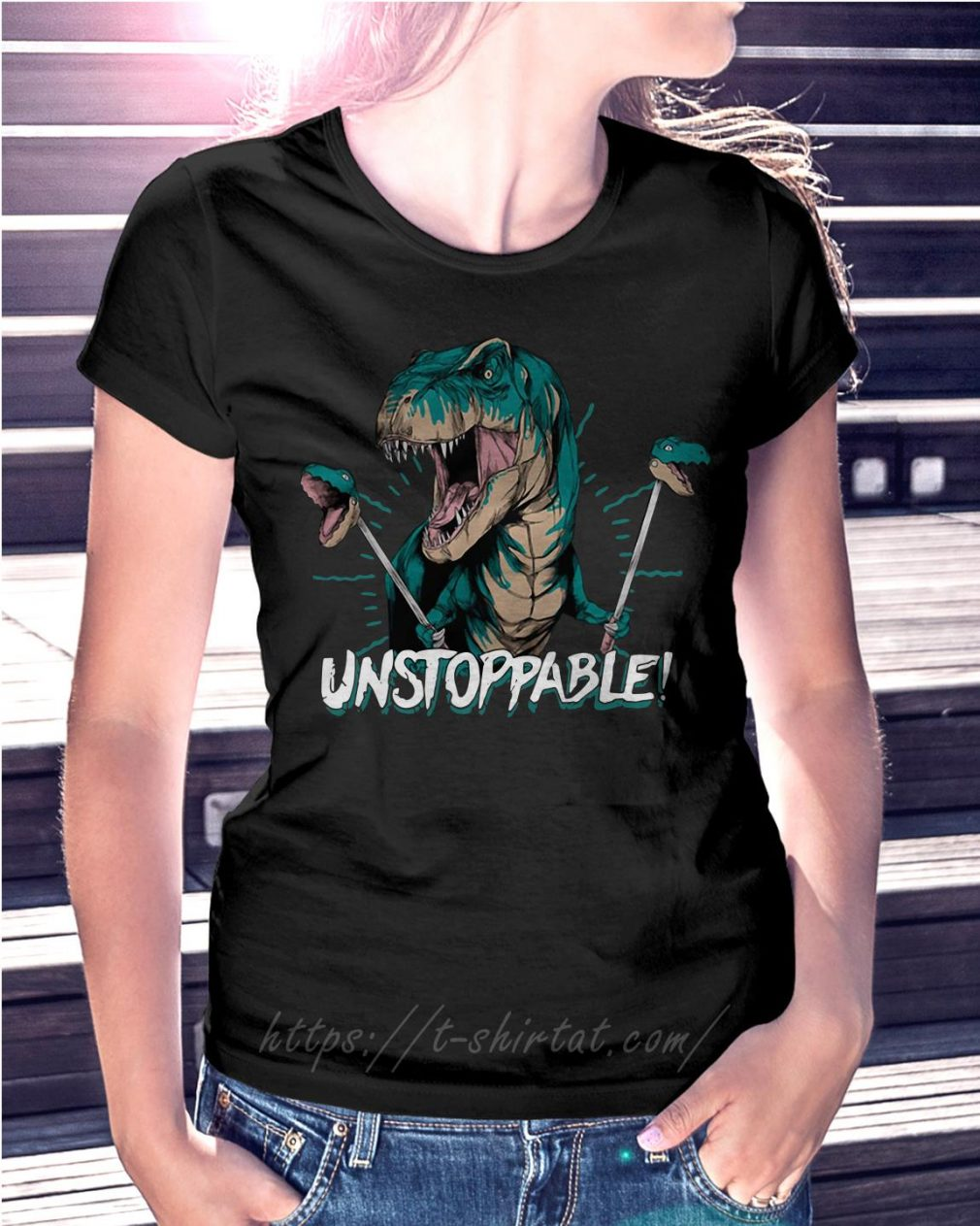Dinosaur unstoppable