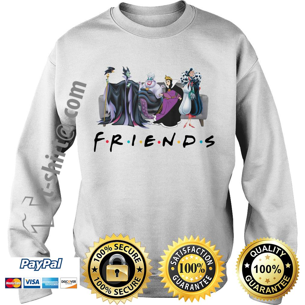 Disney Queens friends Cruella De Vil evil Queen Ursula maleficent shirtDisney Queens friends Cruella De Vil evil Queen Ursula maleficent Sweater
