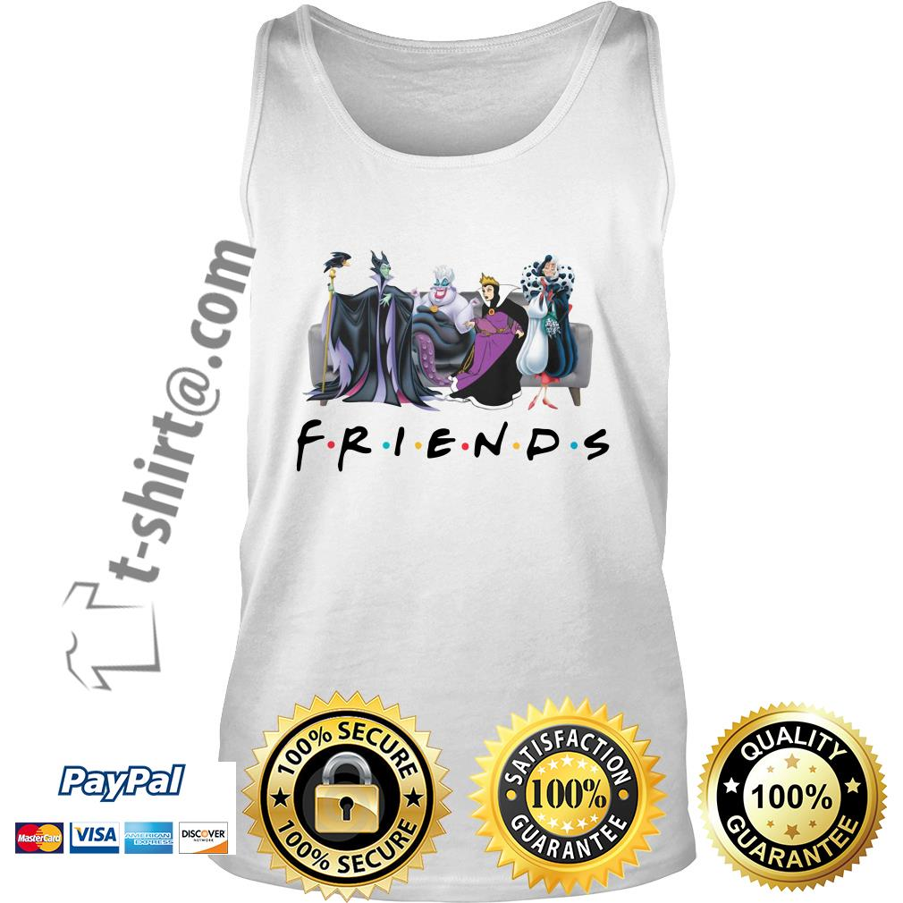 Disney Queens friends Cruella De Vil evil Queen Ursula maleficent shirtDisney Queens friends Cruella De Vil evil Queen Ursula maleficent Tank top