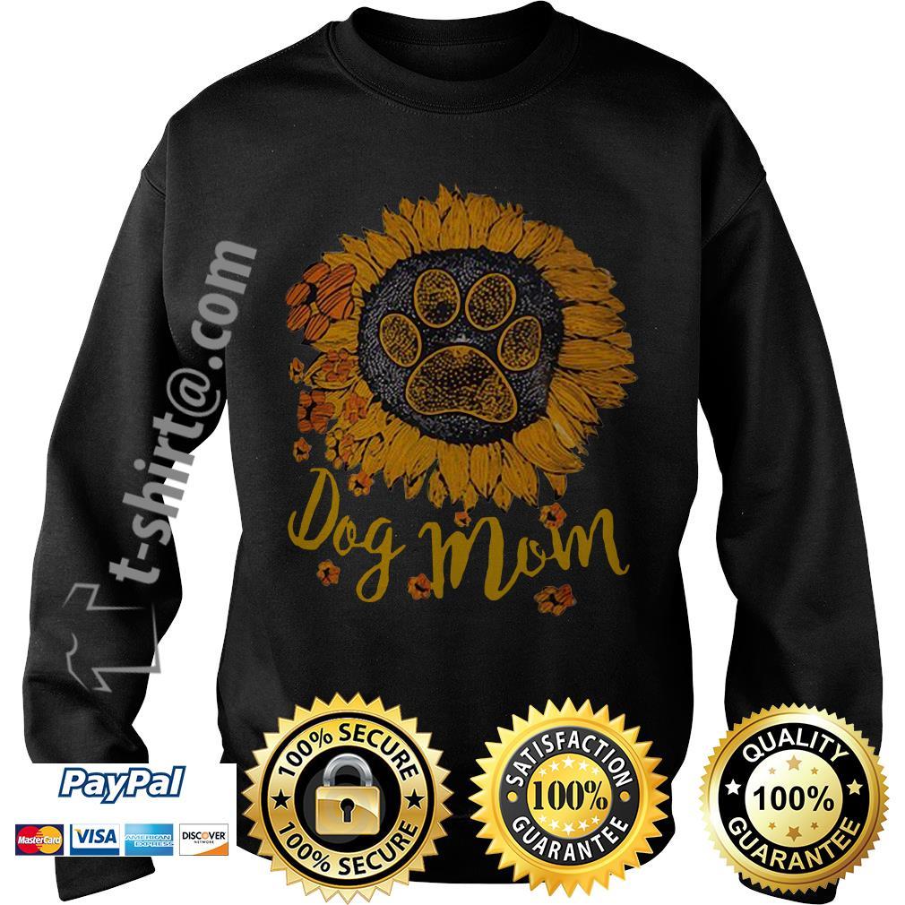 Dog paw sunflower dog mom Sweater